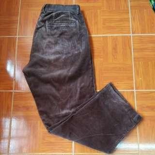 Conduroy Pants Coklat