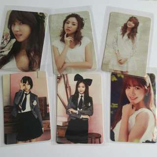 [CLEARANCE!!] Apink official JP press album photocards