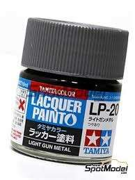 Tamiya Lacquer Paint LP-20 Light Gun Metal