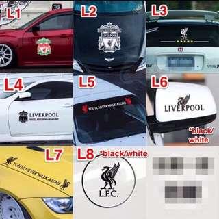 Liverpool Car Decals