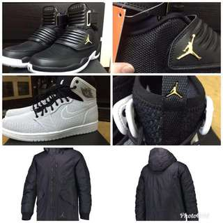 🚚 Jordan 1.Jordan 23.Jordan羽絨外套 風衣