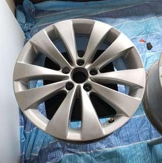 """Original Volkswagen 17"""" Rim - 5x112"""