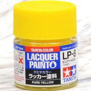 Tamiya Lacquer Paint Pure Yellow LP-8