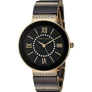 Anne Klein AK/2832BKGB  Black Ceramic Watch