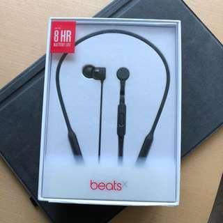 100% new!! Beats X headphone 全新黑色藍芽耳機