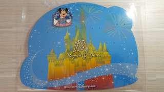 香港迪士尼 12週年 Pin 一套10個 限量500