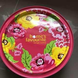 Home's Favourite Cookies Tin Box @ $3/-