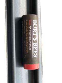 Burt's bee tinted lip balm