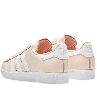 (PO) adidas superstar 80S White