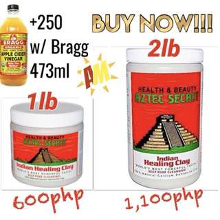 2lbs AZTEC Indian Healing Clay