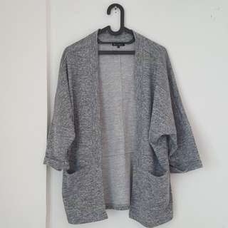 Cardigan COLORBOX warna Abu-abu (Grey) ukuran L