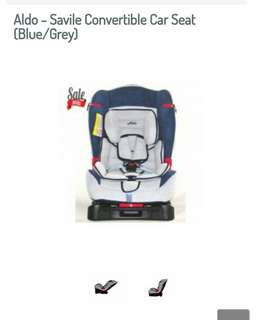 Aldo - Savile convertible carseat blue/grey