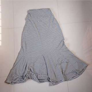 Mermaid maxi skirt