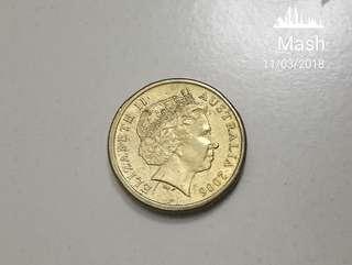 Antique 2 Dollar AUS coin Year 2006