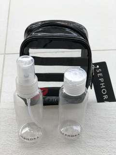Sephora Travel Kit Bottles