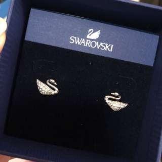 Swarovski 天鵝耳環