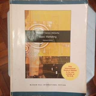 Basic marketing 18th edition