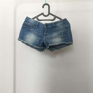 Zara TRF jeans hot pants sz.24