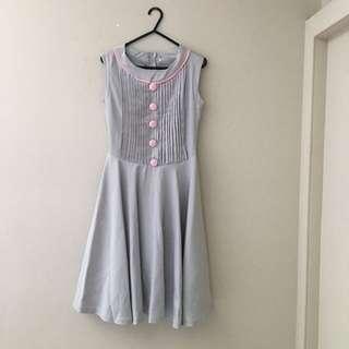 Grey Dress Good Quality