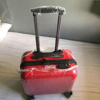 mollieandmommy Coca-Cola luggage bag
