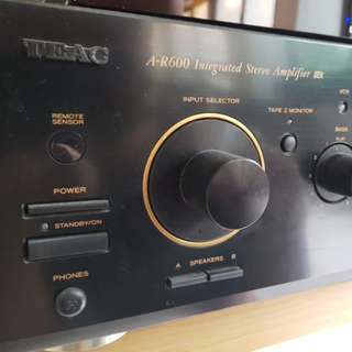 A-R600 Integrated Stereo Amplifier