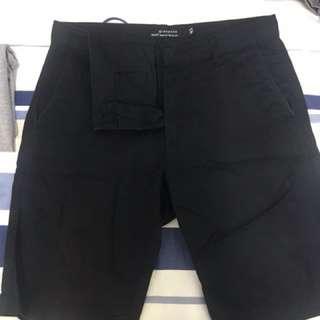 黑色 短褲