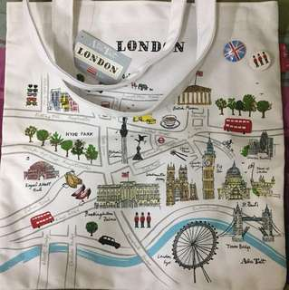 London Map Bag 側咩包
