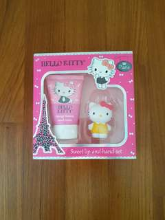 Hello Kitty sweet lip and hand set