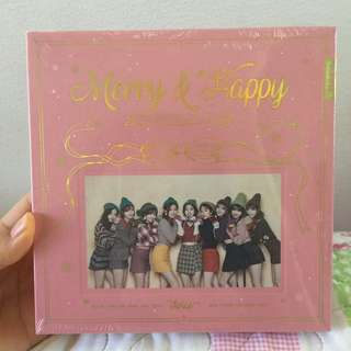 Merry & Happy Twice album