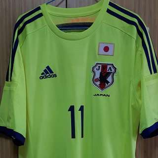 Pre Loved 💯% Authentic Japan Away 2014 with Player Nameset
