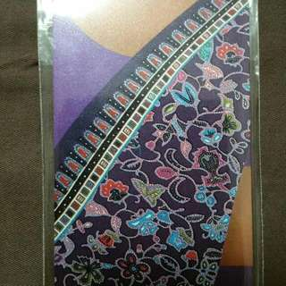 Singapore Airlines Purple Kebaya Ezlink Card