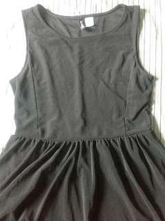 H&M long back dress
