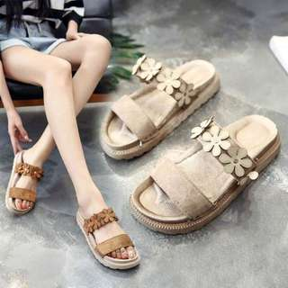 Korean Flower Slipper/Sandals