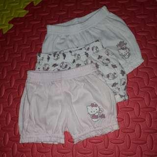 Hello Kitty baby bloomer shorts