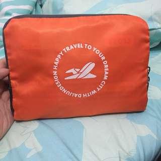 摺疊旅行袋。旅行spare bag compact