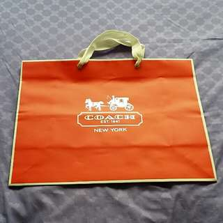 Paper Bag by Coach