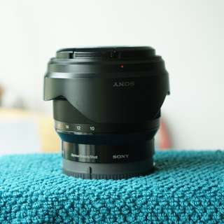 Sony wide angle lens 10-18mm