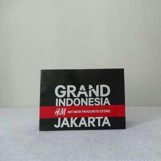 H&M Grand Indonesia Paper Bag