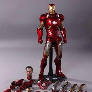 Marvel hot toys iron man mk7