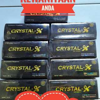 CRYSTAL-X PT NATURAL NUSANTARA