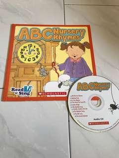 PL scholastic ABC nursery rhymes with CD
