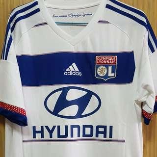 Pre Loved 💯% Authentic Olympique Lyonnais Home Jersey 2015/16 Season
