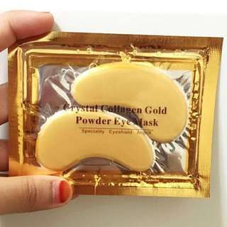 BN CRYSTAL COLLAGEN GOLD POWDER EYE MASK