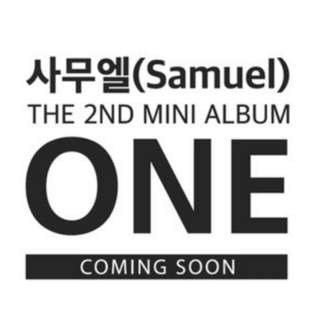 [PO] SAMUEL 2ND MINI ALBUM - ONE