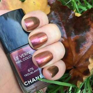 Chanel iridescent nail polish
