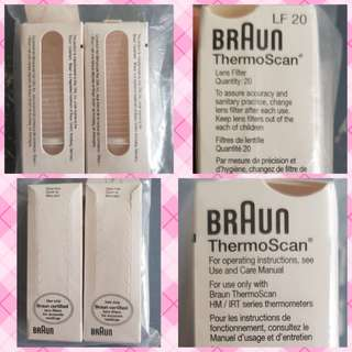 Braun - Lens filters (32 pieces) for HM/IRT series Braun ThermoScan