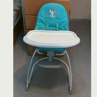 Highchair 幼兒高腳餐椅 (80% new)