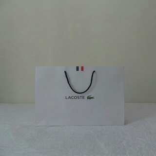 Lacoste French Paper Bag
