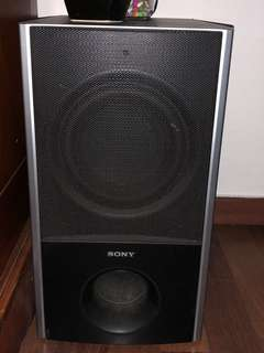 Hardly used Home theatre 5.1 Sony Surround system