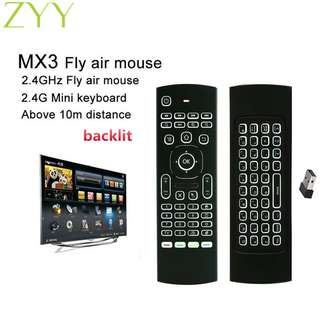 Mx3 air mouse remote / Multifunction / Self collection / Postage